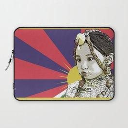A little Tibetan girl Laptop Sleeve
