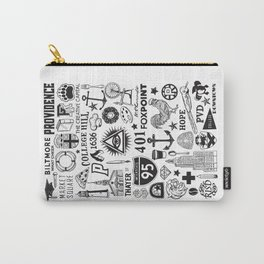 Providence Rhode Island Print Carry-All Pouch