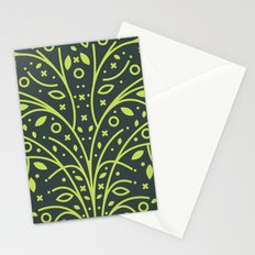 Tree Pattern Stationery Cards