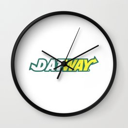 "Migoss ""DATWAY"" Shirt Wall Clock"