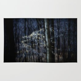 Late Fall In The Forest Rug
