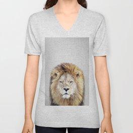 Lion 2 - Colorful Unisex V-Neck