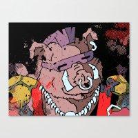 bebop Canvas Prints featuring Bebop by Adam Newacheck