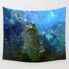 The Great White Marine Lava Lamp Wall Tapestry