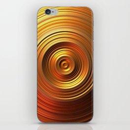 Golden Disc - for Circle Week iPhone Skin