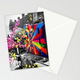 NYC HighLine V-J Day Mural (Mural by Eduardo Kobra) Stationery Cards