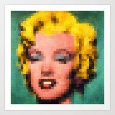 Marilyn Still Alive ? Art Print