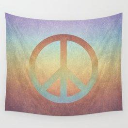 Peace V Wall Tapestry