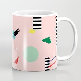 Memphis Geometry Lesson Coffee Mug