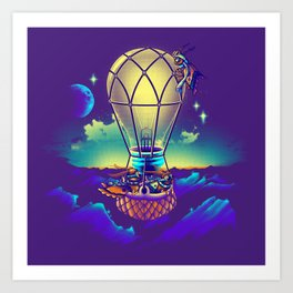 Light Flight Art Print