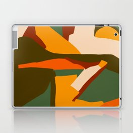 A New Way Of Seeing Abstract Landscape Laptop & iPad Skin