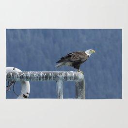 Bald Eagle of Resurrection Bay, No. 3 Rug