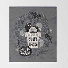 Stay Spooky Throw Blanket