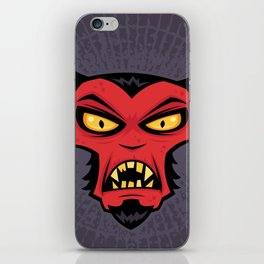 Mad Devil iPhone Skin