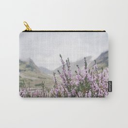 Heather in Glencoe Carry-All Pouch