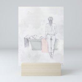 Figures Mini Art Print
