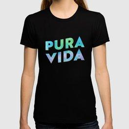 Pura Vida Watercolor Typography T-shirt