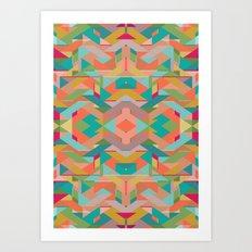 Aztek Art Print