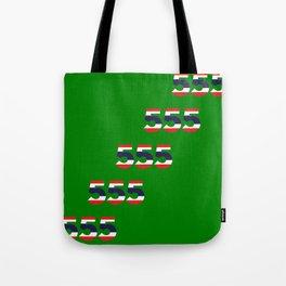 555  Thai flag Tote Bag