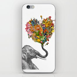 Happy Elephant  iPhone Skin