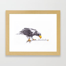 Saudade.2 Framed Art Print