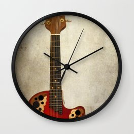 Mandolin Wall Clock