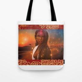 Beautiful Desert Girl Tote Bag