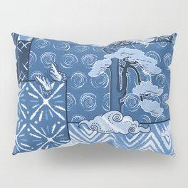 Shibori Quilt Pillow Sham