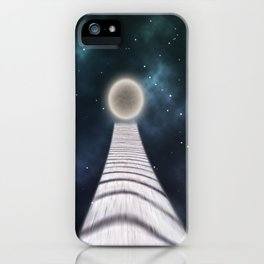away to the moon iPhone Case
