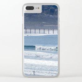 Aqua Playground Clear iPhone Case