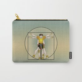 Vitruvian Cyclist Carry-All Pouch