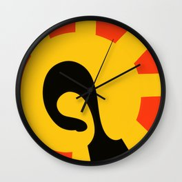 Anchored Wall Clock