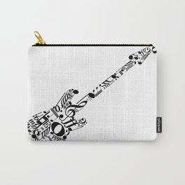 Musical guitar Carry-All Pouch