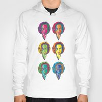 dana scully Hoodies featuring Scully by Sam Del Valle