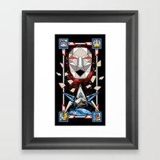 Epic Fox Framed Art Print
