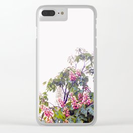 Floral#2 Clear iPhone Case