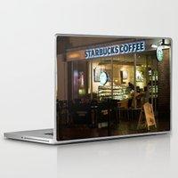 starbucks Laptop & iPad Skins featuring Starbucks by VAWART
