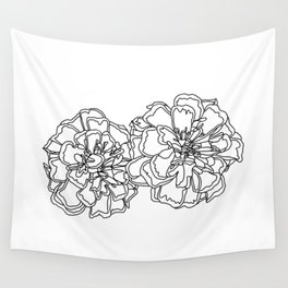 Marigolds Wall Tapestry
