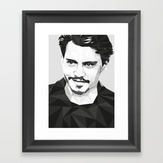 Here's Johnny... Framed Art Print