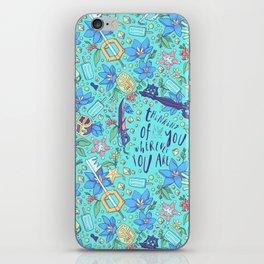 Kingdom Hearts Floral iPhone Skin