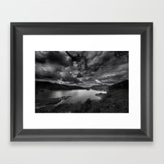 Surprise View Framed Art Print