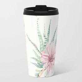 Cactus Pattern Light Green #society6 #buyart Travel Mug