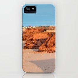 Thunder Cove Beach Cliffs iPhone Case