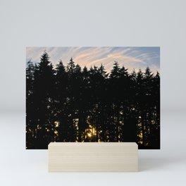 Silhouette Mini Art Print