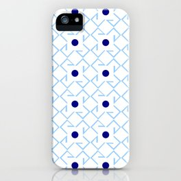 Antic pattern 9- from LBK blue iPhone Case