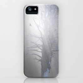 Sunrise in the Trump Forets. iPhone Case
