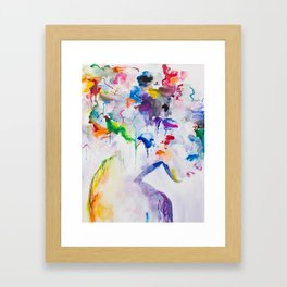 Mixed Emotions Framed Art Print