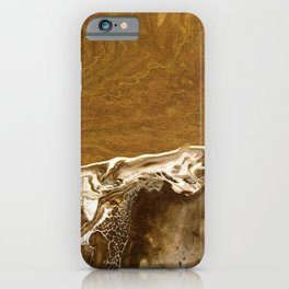 Abstract Acrylic Sand iPhone Case