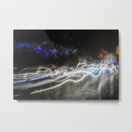 Streaky Bacon Fuzz Metal Print