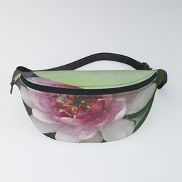 Beautiful Lotus Flower Fanny Pack